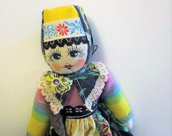Slavic Costume Doll