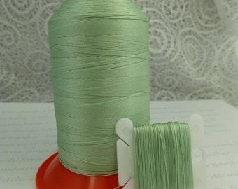 Pattye's MINT Serafil Thread, Silk Like, Knotting, Beading, Stringing, Large Spool, Pale Green