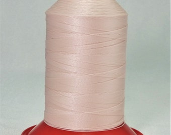 Pattye's PEACH Serafil Thread Silk Like, Pearl Knotting, Beading, Stringing, Large Spool, light orange, pinkish peach