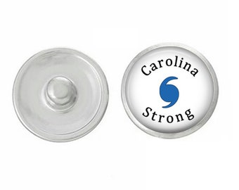 Caroline Strong - Hurricane Florence Snap - GingerSnaps - Ginger Snaps Compatible - Magnolia and Vine Compatible - Handpressed Snap