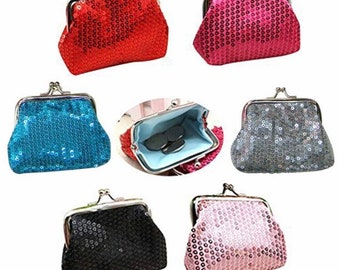 Holiday Christmas Themed Coin Purse - Pairs with All Of Our 18-20mm Snaps - GingerSnaps - Magnolia and Vine Compatible - Select Your Color