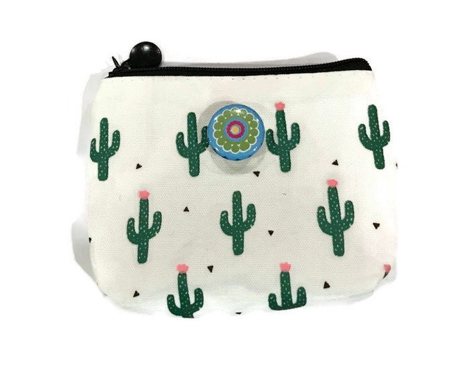 Coin Purse with Snap Base