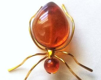 Broche fourmi Vintage | Vintage broche insecte | broche fourmi Vintage