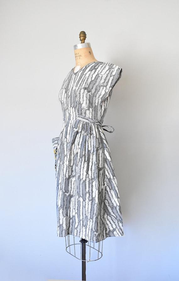 Josephine cotton wrap dress, 1950s dress, 50s cot… - image 5