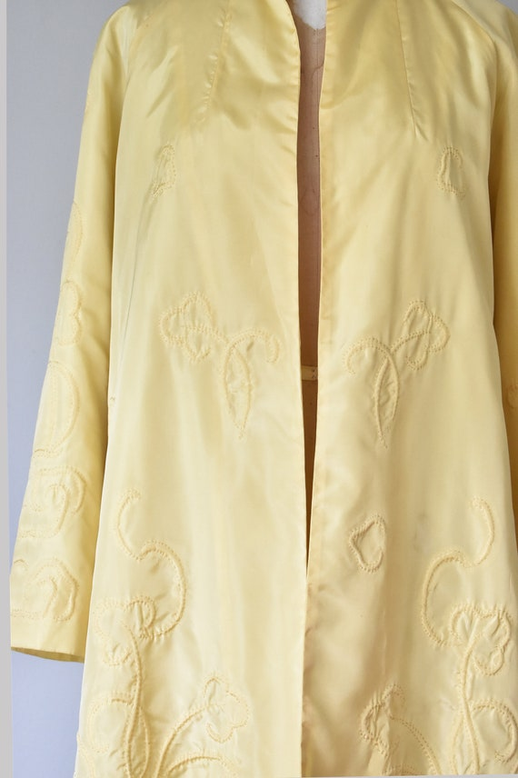 Ruan 1930s silk Chinese jacket, embroidered silk … - image 3