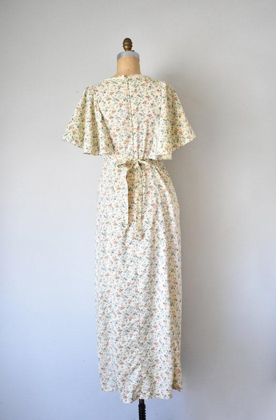 Harmony flower print prairie dress, cottagecore d… - image 7