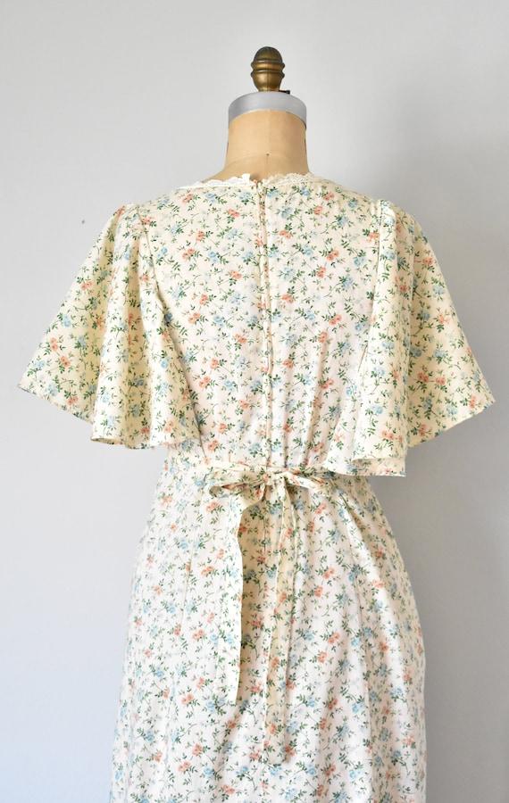 Harmony flower print prairie dress, cottagecore d… - image 8