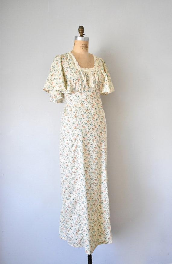 Harmony flower print prairie dress, cottagecore d… - image 6