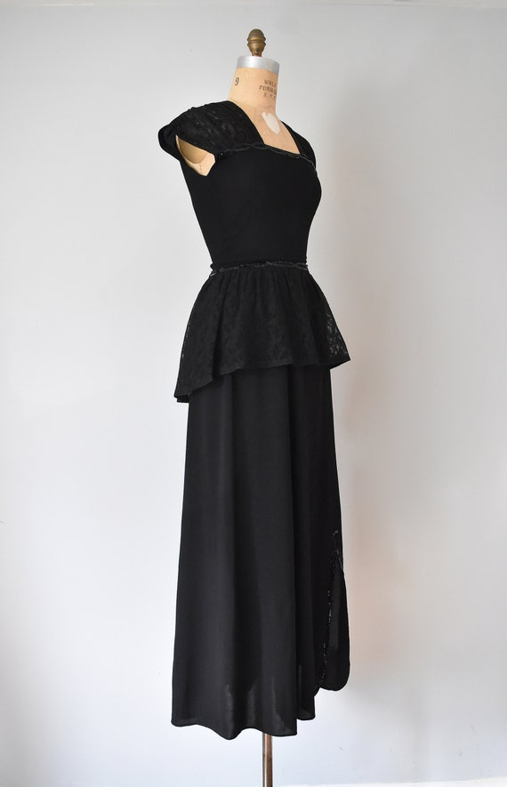 Gilda 40s rayon skirt suit, sequins womens suit, … - image 7