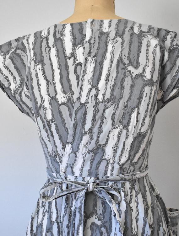 Josephine cotton wrap dress, 1950s dress, 50s cot… - image 8