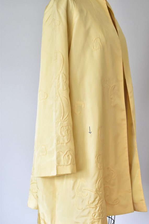Ruan 1930s silk Chinese jacket, embroidered silk … - image 5