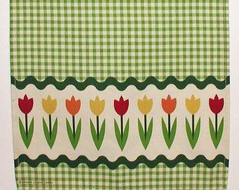 Tulips Tea Towel