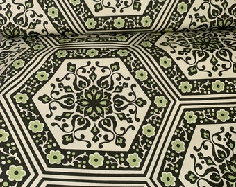 Nigella 1/2 Yard by Amy Butler HD-ABS8 StarFlower Tile -Spinich  OOP