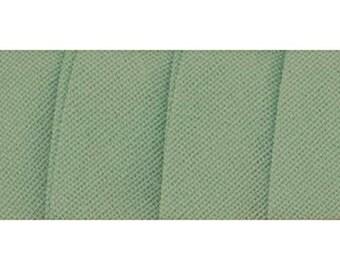 Wrights 1 (pkg) SEA Green Single Fold Bias Tape- 1/2''W x 4yds 200 104 SEA GREEN