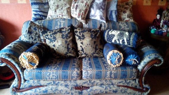 Victorian Bolster Pillow Cover