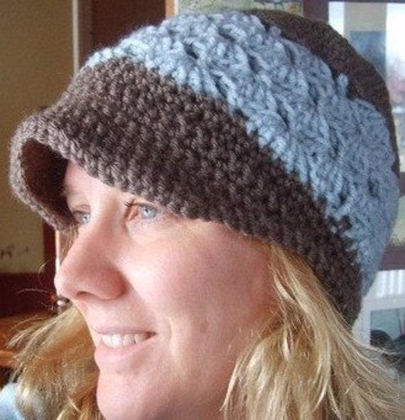 Crochet Newsboy Hat Pattern