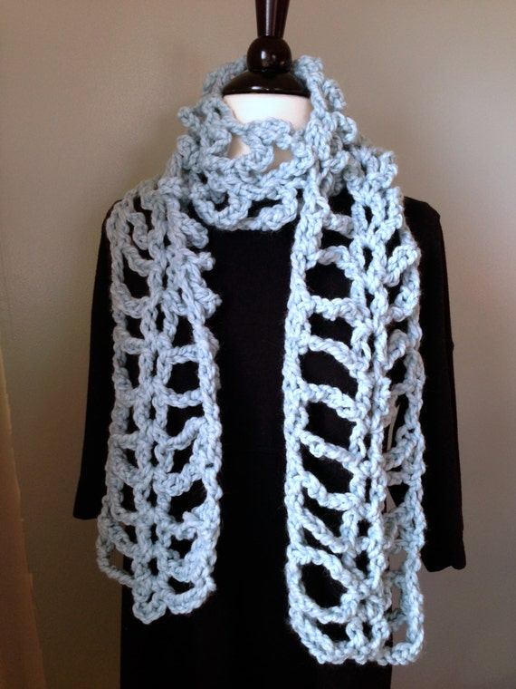 Crochet Scarf Pattern Super Fun Quick And Easy Project Etsy