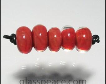 Lampwork Glass Beads - handmade boro lampwork - Glass Peace jewelry supplies (5983)