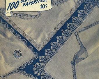 Printable - 1945 Vintage Crochet Edgings pattern book PDF