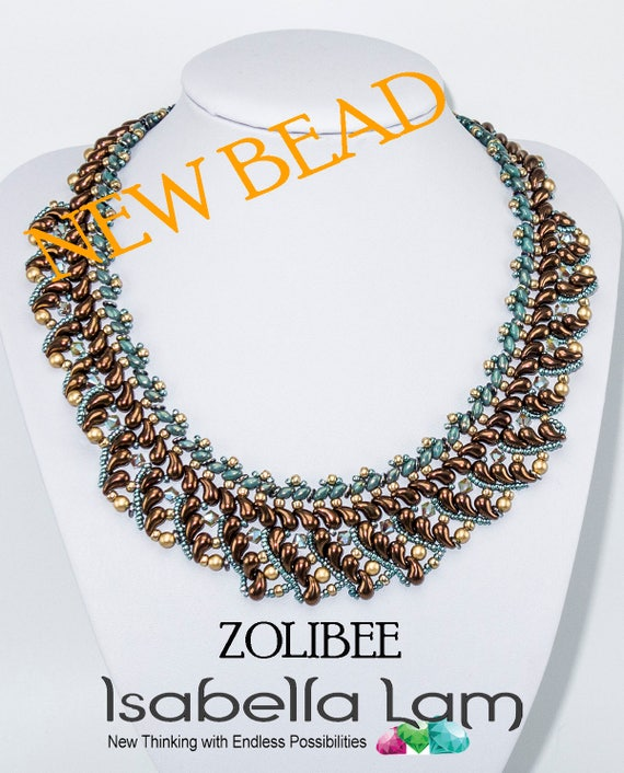 MORRY SuperDuo Beadwork Necklace Beading Kit Instruction and Materials