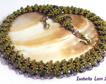 HERRI Beadwork Necklace Exclusively PDF Beading tutorial for personal use only