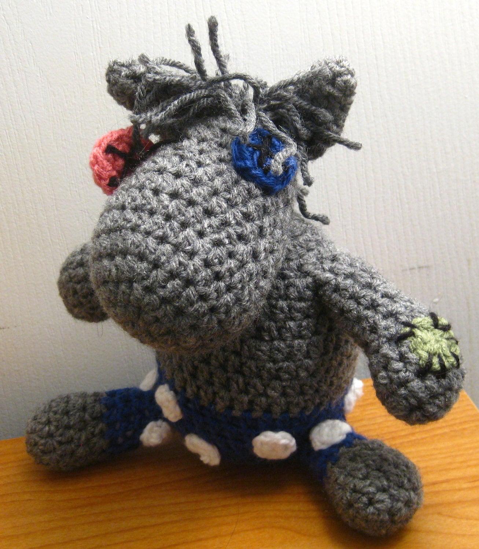 Pattern Smarty Pants Crocheted Mlp Amigurumi Plush Etsy