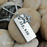 Rent 525,600 Minutes with Tibetan Silver Star Charm Necklace - Rent Season of Love - Fan Gift - Theater Gift - Actor Gift - Unisex