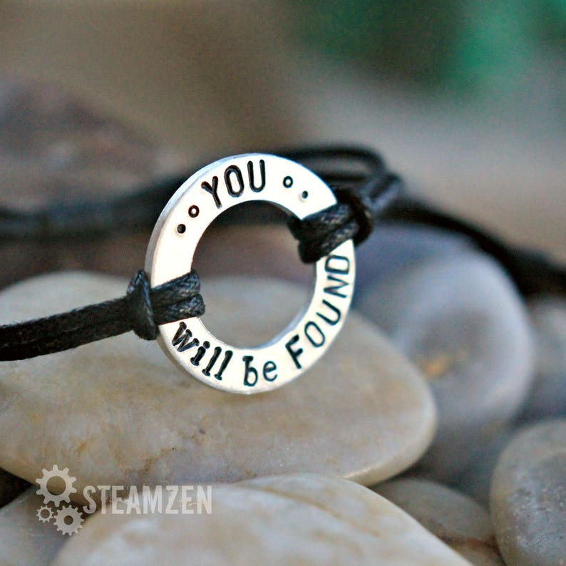 Youre You and Thats Enough Dear Evan Hansen Inspired Adjustable Bracelet Theater Gift Actor Gift