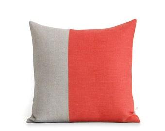 Color block pillows & more fresh home decor door jillianrenedecor