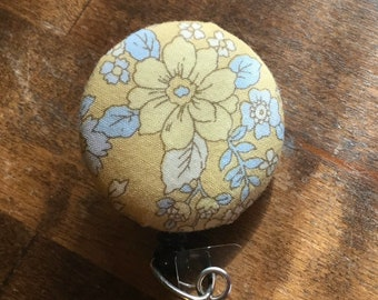 Fabric Covered Badge Reel