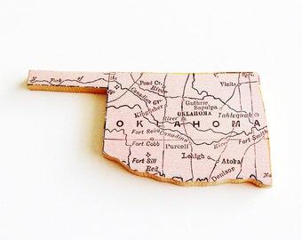 USA History Wood Pins
