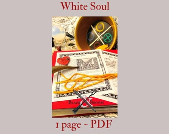 White Soul -- Book of Shadows -- BOS page