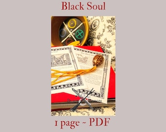 Black Soul -- Book of Shadows -- BOS page