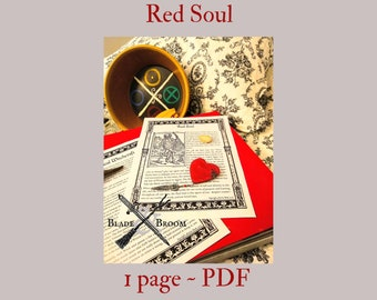Red Soul -- Book of Shadows -- BOS page