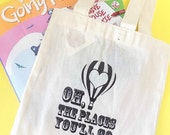 Oh The Places You'll Go Suess Tote Bag