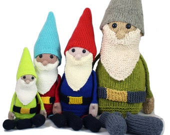 NEW Gilbert The Garden Gnome Knitting Pattern Pdf INSTANT DOWNLOAD
