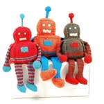 Robbie the Radiant Robot Knitting Pattern Pdf INSTANT DOWNLOAD