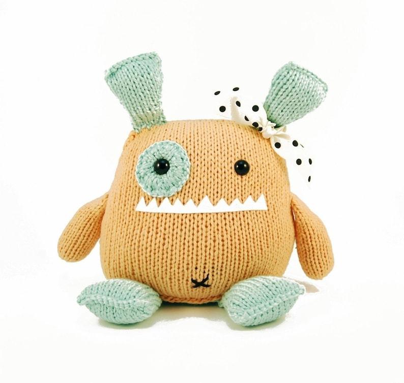 Penelope The Empathetic Monster Knitting Pattern Pdf INSTANT image 0