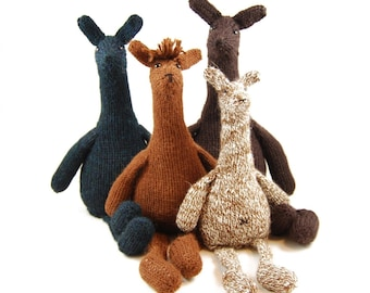 Zeke the Aloof Alpaca Knitting Pattern Pdf INSTANT DOWNLOAD