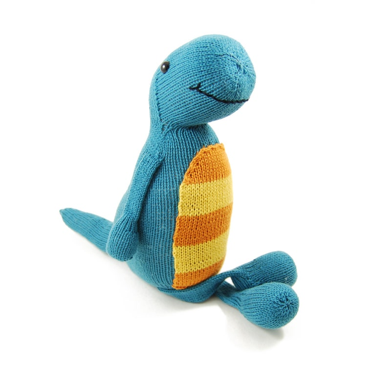 Terence the Tap Dancing T-Rex Knitting Pattern Pdf INSTANT ...
