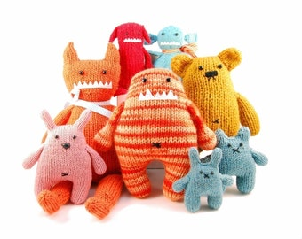 All 34 Danger Crafts Knitting Patterns Pdf INSTANT DOWNLOAD