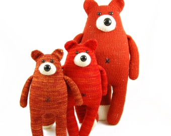 NEW Knox the Finicky Fox Knitting Pattern Pdf INSTANT DOWNLOAD