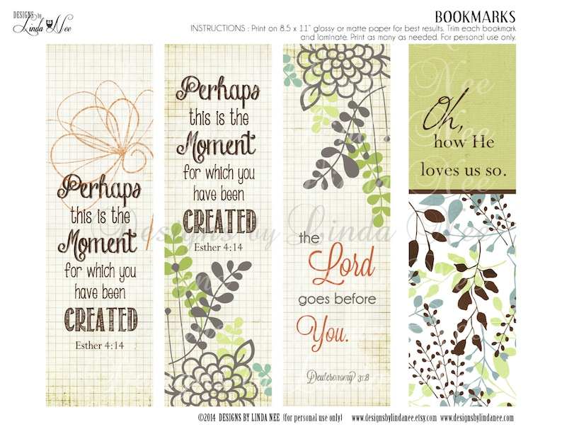 graphic relating to Printable Christian Bookmarks referred to as BOOKMARKS ~ Printable CHRISTian Scripture 7 BOOKMARKS - Prompt Obtain - Christ, Esther, God, Do-it-yourself, Craft, Christian, Studying
