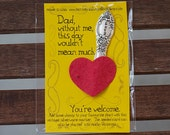 Love Dad Wildflower Seed Paper Kit (E0563)