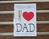 I (heart) Dad Wildflower Seed Paper Kit (E0565)