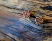 Personalized Copper Tree Earring (E0399)
