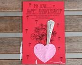 Happy Anniversary Flower/Marker Kit E0496)