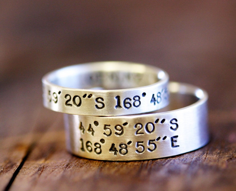 Personalized name ring E0237