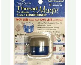 Thread Magic Thread Conditioner Protectant  43707 Reduce Tangles, Acid-Free Thread Conditioner, Thread Protectant, Reduce Knots in Thread