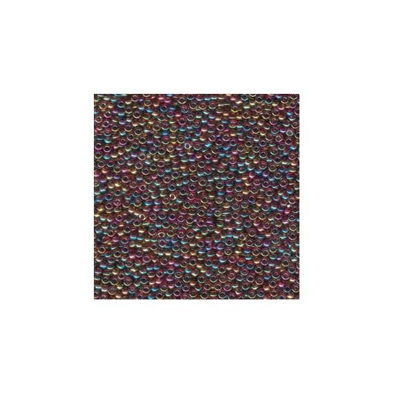Miyuki rocailles tube 22g 8//0 noir opaque